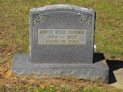 Annie <I>Reed</I> Ponder