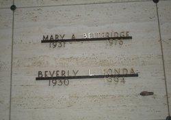 Beverly Lenora <I>Winton</I> Fonda