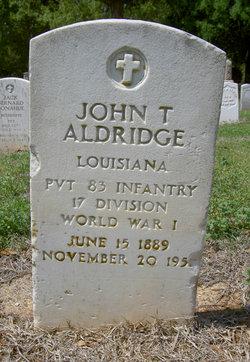 John Thomas Aldridge