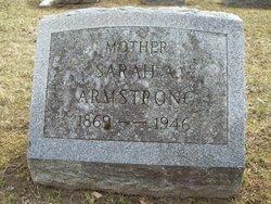 Sarah Amelia <I>Stebbins</I> Armstrong