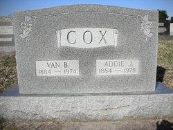 Addie <I>Jones</I> Cox