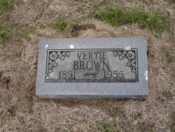 Vertie Brown