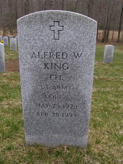 Alfred W King