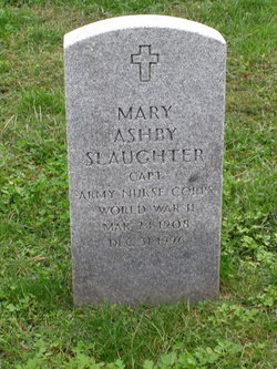Mary Ashby Slaughter