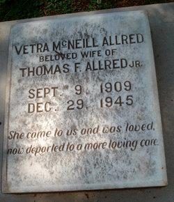 Vetra <I>McNeill</I> Allred