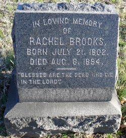 Rachel Brooks (1802-1894) - Find A Grave Memorial