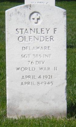 Stanley Frank Olender