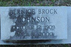 Ethel Bernice <I>Brock</I> Johnson