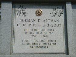 Norman Donald Artman