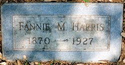 Fannie Martha <I>Gardner</I> Harris