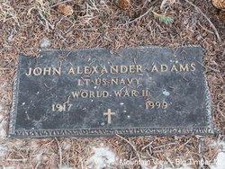 LCDR John Alexander Adams