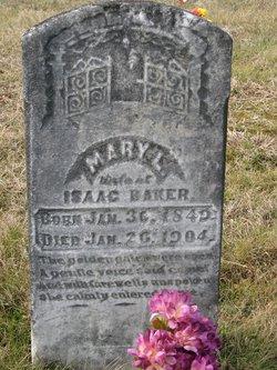 Mary L. <I>Carter</I> Baker