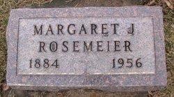 Margaret J Rosemeier