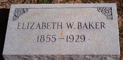 Elizabeth <I>Williams</I> Baker