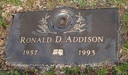 Ronald D Addison