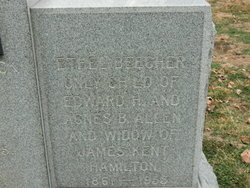 Ethel Beecher <I>Allen</I> Hamilton