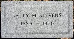 Sally M. <I>Morgan</I> Stevens