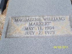 Magdalene <I>Williams</I> Markert