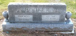 """Albert Wesley """"Moncha"""" Hooker"""