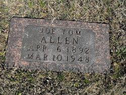 """Joseph Thomas """"Joe Tom"""" Allen"""