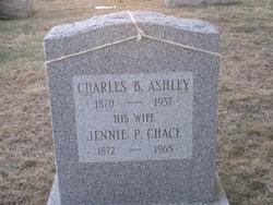 Jennie P <I>Chace</I> Ashley
