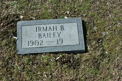 Irmah Bell <I>Coon</I> Bailey