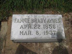 Fannie <I>Brady</I> Ayres