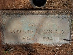 Lorraine <I>Lackey</I> Manning