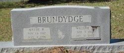 Mattie <I>Rogers</I> Brundydge