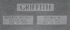 Alverta A <I>Devinney</I> Griffith