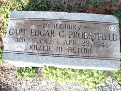 Capt Edgar George Probstfield