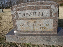 Minnie Mary <I>Graul</I> Probstfield