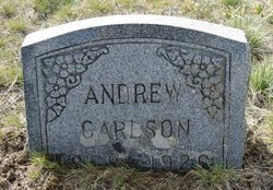 """Anders """"Andrew"""" Carlson"""