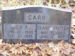 Claire <I>Hassler</I> Carr