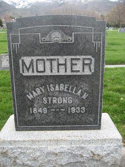 Mary Isabella <I>Newton</I> Strong