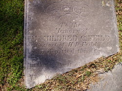 """Mildred C. """"Millicine"""" <I>Young</I> Field"""