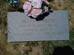 Betty Jane <I>Dice</I> Beltz