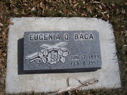 Eugenia <I>Quintana</I> Baca