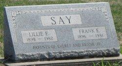 Lillie Elizabeth <I>Heer</I> Say