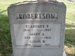 Mary <I>Alford</I> Robertson