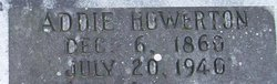 "Amanda H ""Addie"" <I>Howerton</I> Jones"