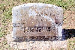 Mrs Mary Duke <I>Watts</I> Bass