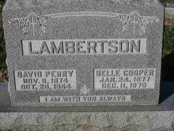 Laura Belle Lambertson