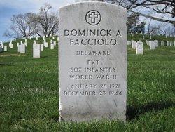 PVT Dominick A Facciolo