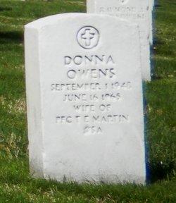 Donna <I>Owens</I> Martin