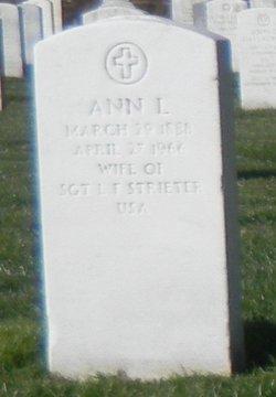 Ann L <I>Stelz</I> Strieter