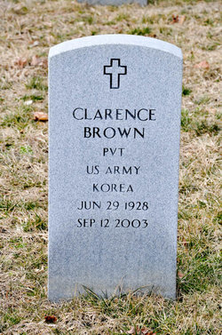 Pvt Clarence Brown