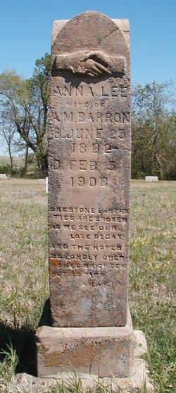 Anna Lee <I>Mitchell</I> Barron