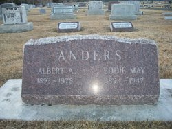 Eddie May <I>Davis</I> Anders