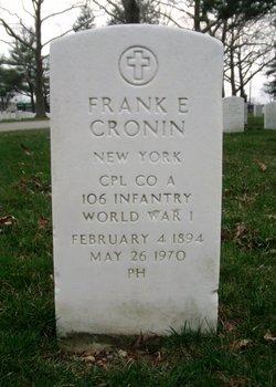 Frank E Cronin